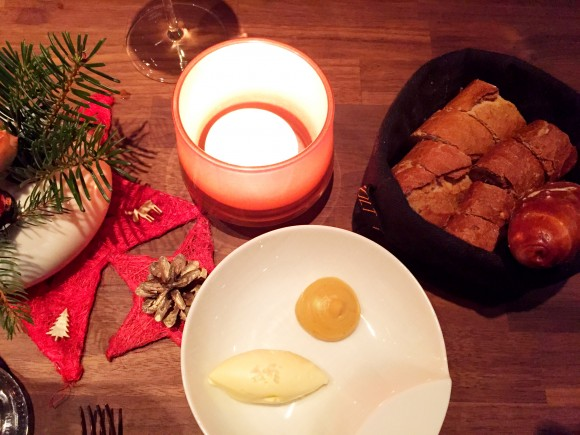 volt - bread with butter and rutabaga spread