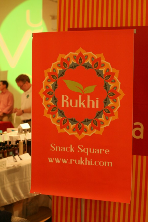 rukhi's fig and almond snack samples