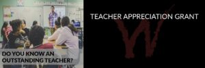 Teacher Appreciation Grant