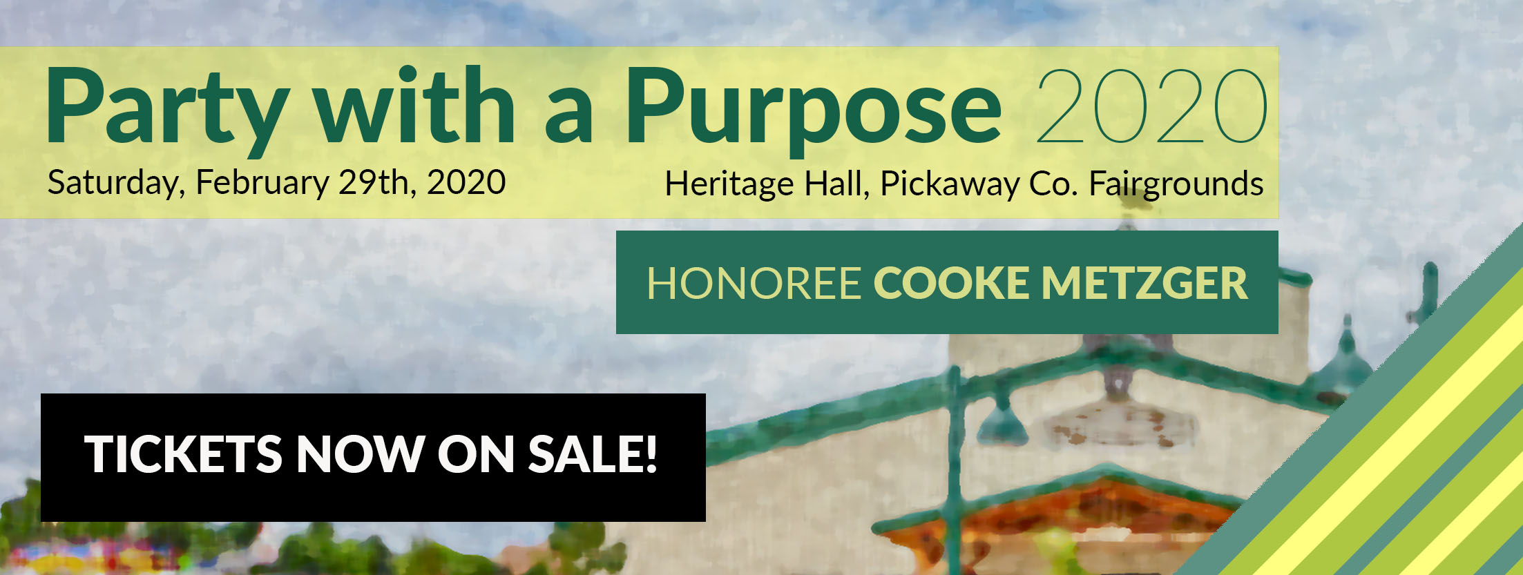 Party with a Purpose 2020 Tickets Now On Sale