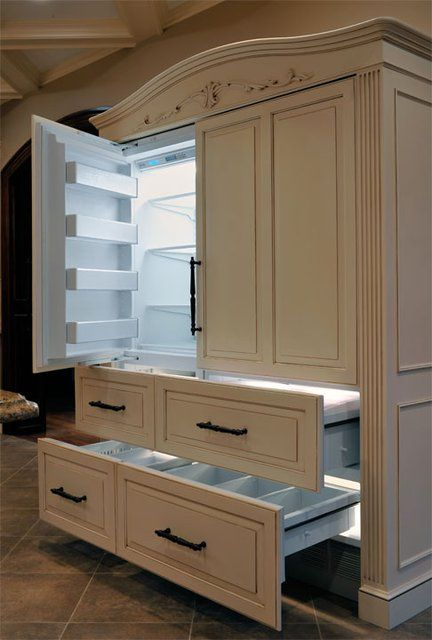 Making Appliances A Part Of The Woodwork Of Your Kitchen