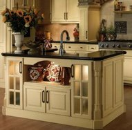 central cabinetry island style and function