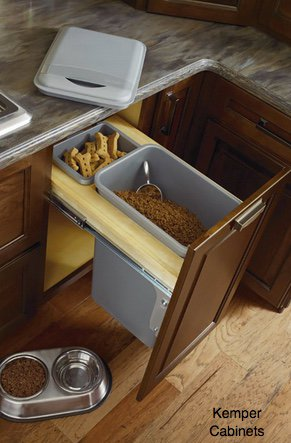 central pet food storage