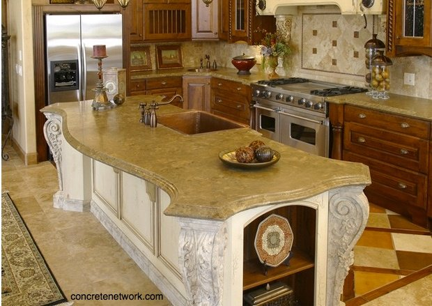 Concrete Countertops – Are They Right For Your Florida Kitchen Remodel?