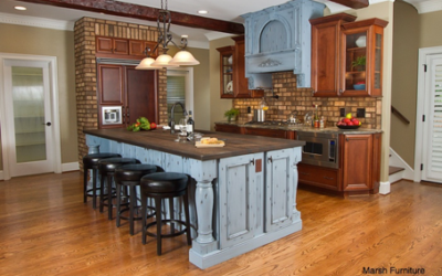 Using More than One Cabinet Color in Your Kitchen
