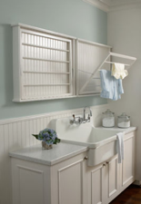 7 Color Palettes to Make a Relaxing Laundry Room