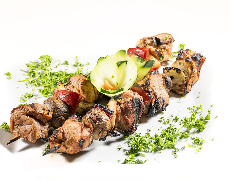 Pork Shish Kebap