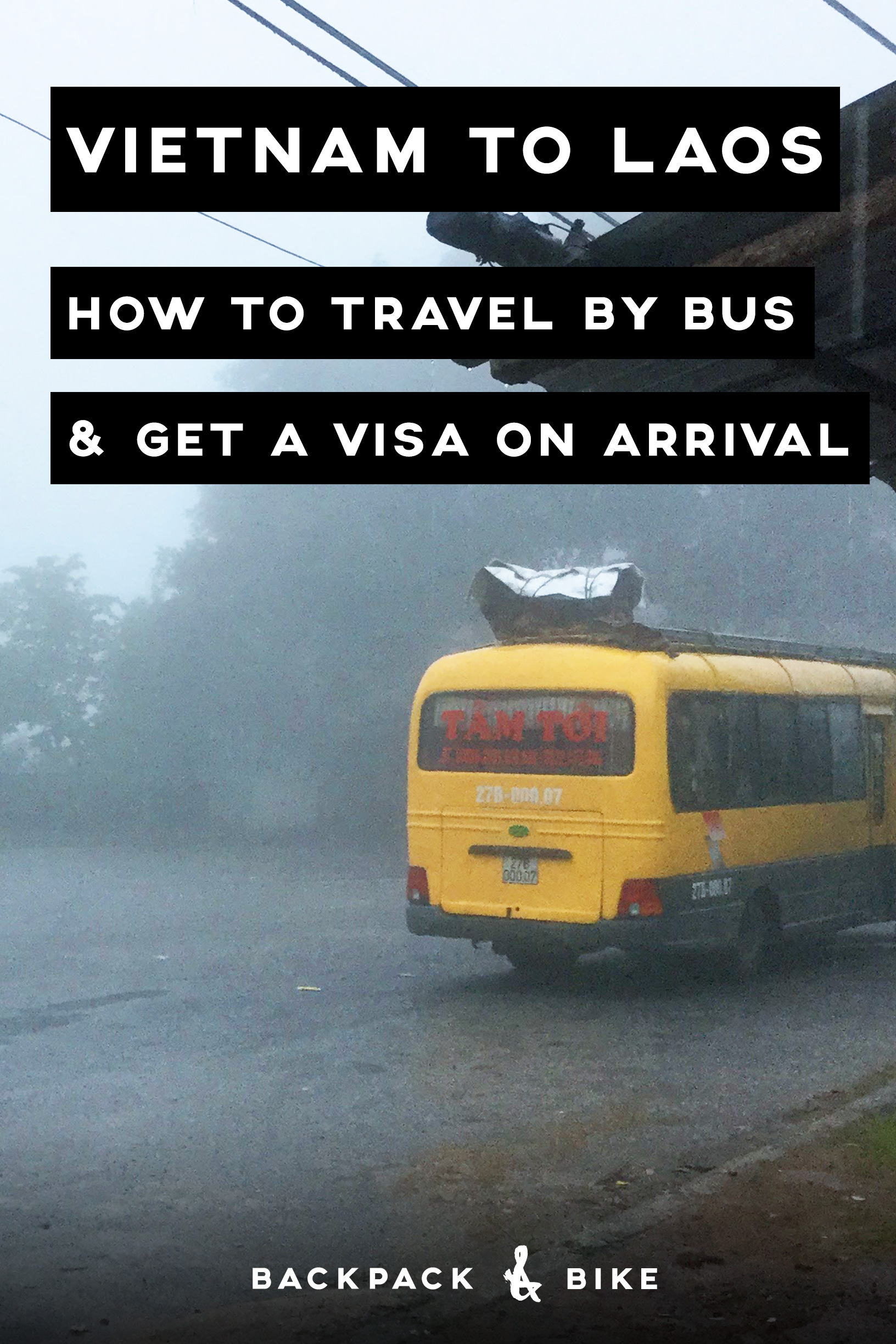 What is it really like to travel by bus from Vietnam to Laos? What is the border crossing like? How much is a Laos Visa? Here's how.