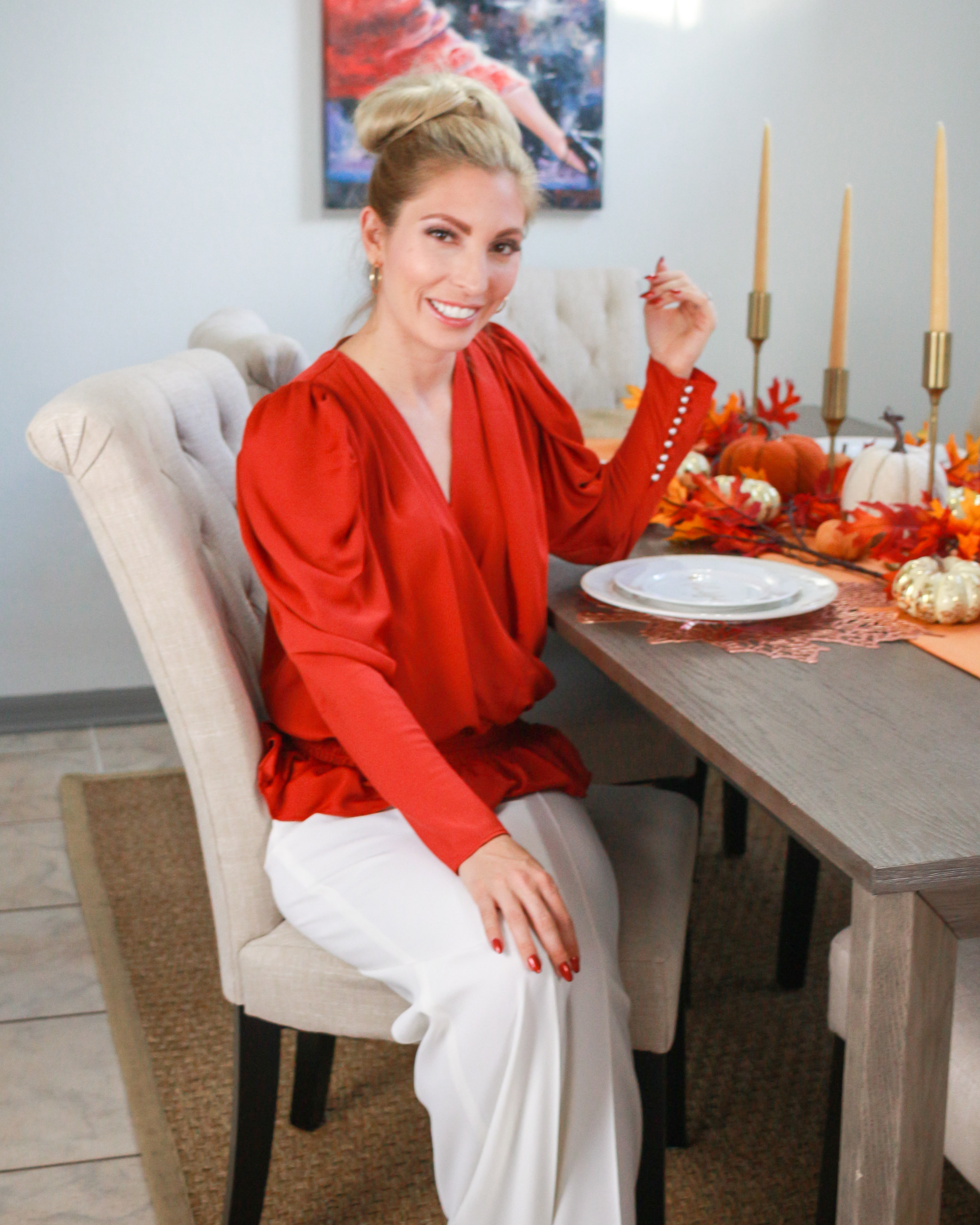 BEAUTIFUL FALL TABLE DECOR 13 THANKSGIVING OUTFIT IDEAS