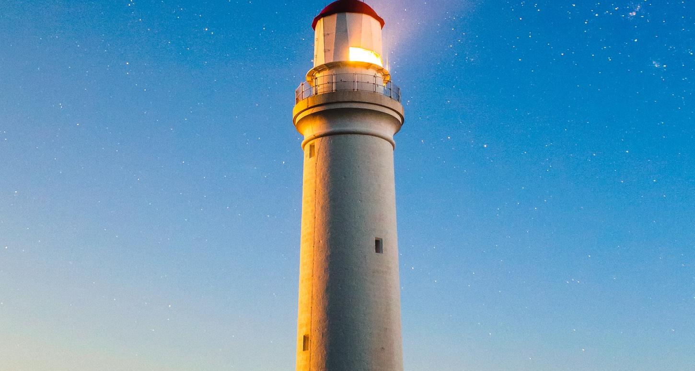 Shining lighthouse