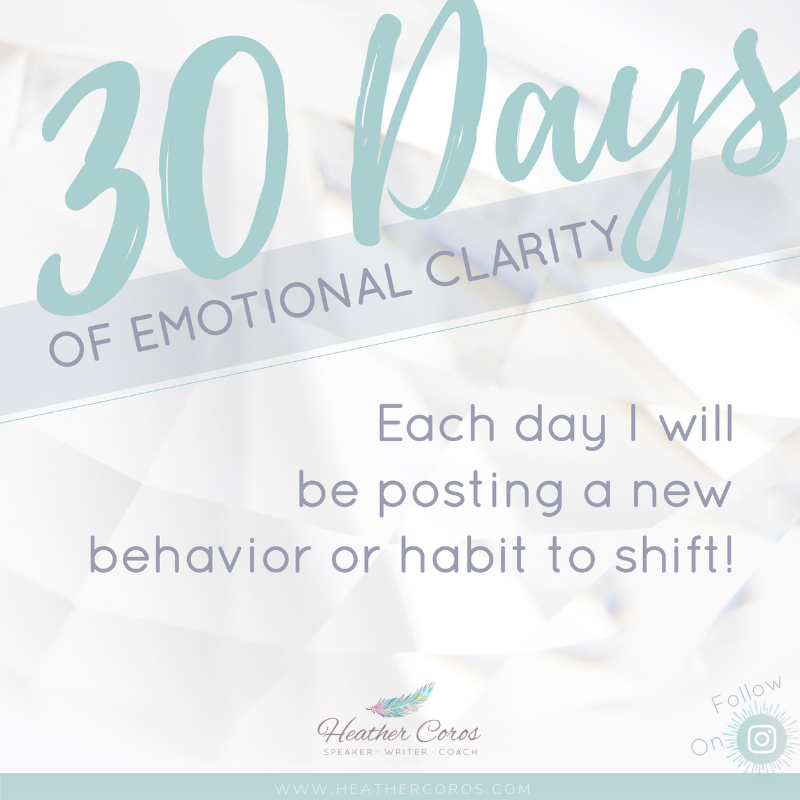 30 Days of Emotional Clarity