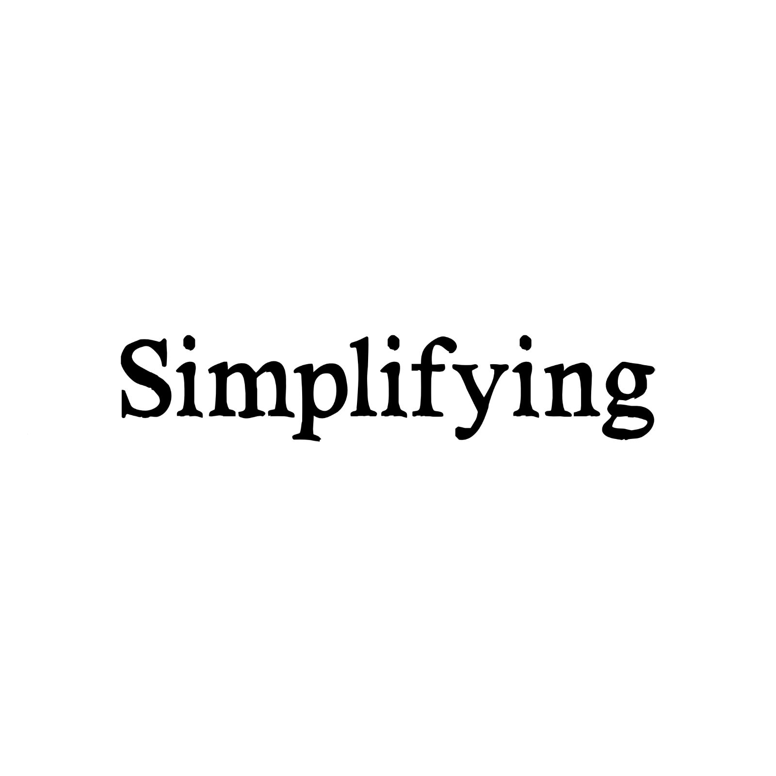 Simplifying the Mission of the Church