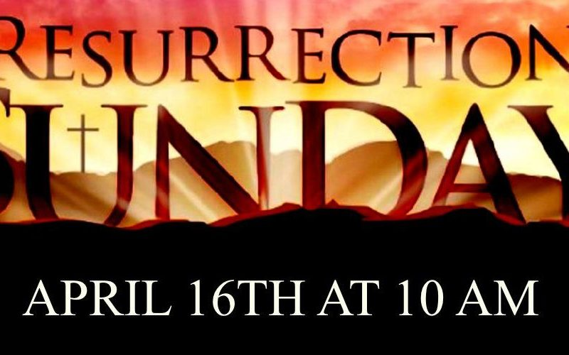 Resurrection Sunday 2017 – All is Forgiven