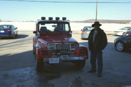 New Owner Gerald Sabourin 1991 Jeep