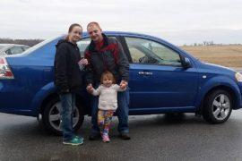 New Owners Francis 2008 Chevy Aveo - Copy