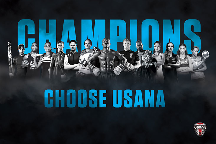 Some of the over 3000 professional and elite athletes that choose USANA nutritionals