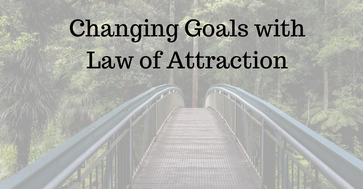 Goals and law of attraction