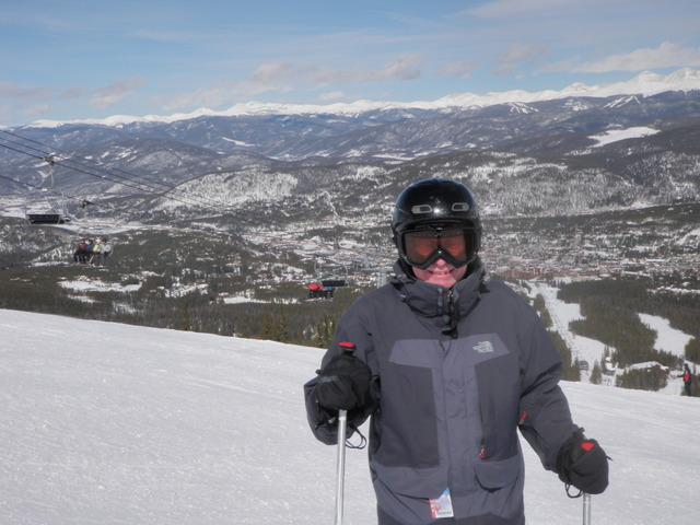 Dave with Town of Breckenridge in Background