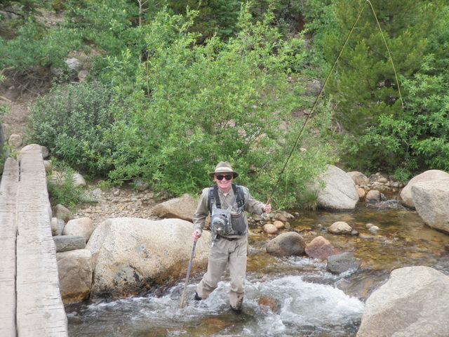 Dave Enters Roaring River on Saturday