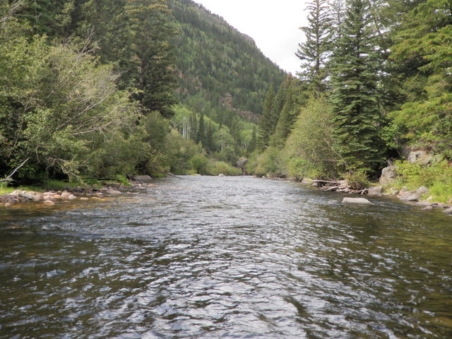 South Fork of White River Near Starting Point on Friday