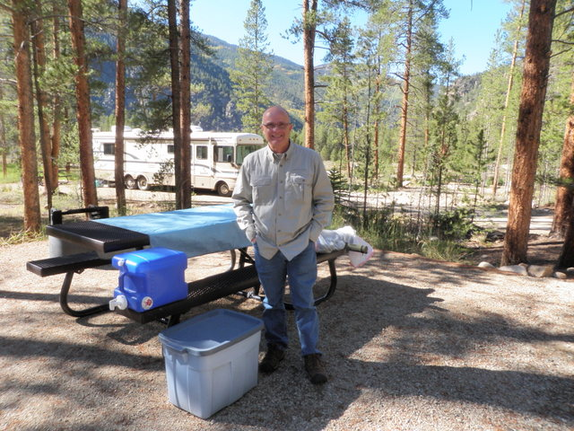 Jeff Shafer at Lottis Creek Campground