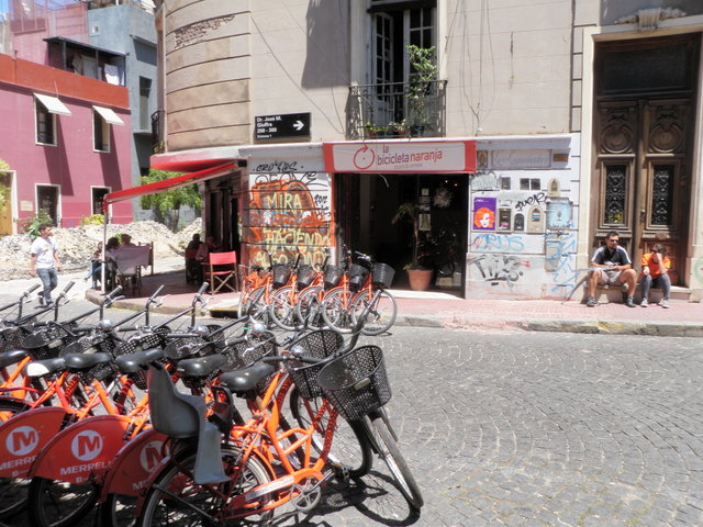 Bicicleta Was Where We Rented Bikes and Started Our Tour