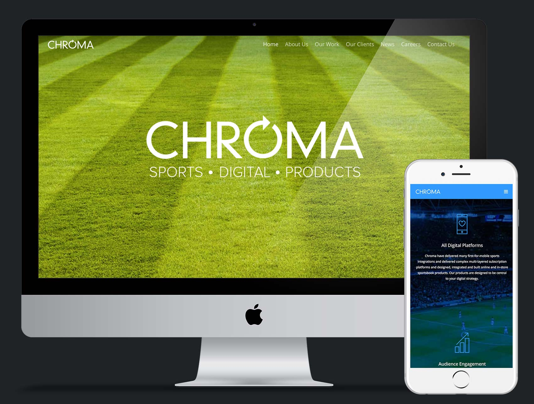 Chroma Sports Website