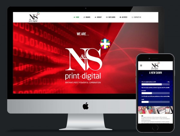 N&S+ Website Design and Build using Wordpress Platfrom