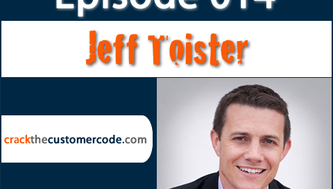 Jeff Toister Author of Service Failure   Crack the Customer Code Podcast Interview