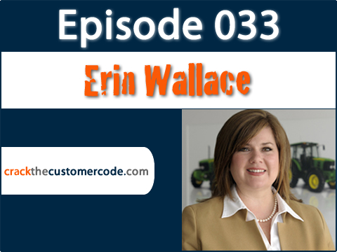 Erin Wallace of John Deere Podcast Interview