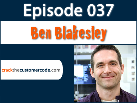 Ben Blakesley of Reebok Podcast Interview