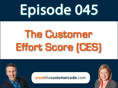 The Customer Effort Score