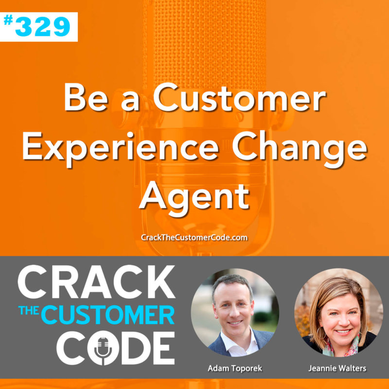 customer experience change agent