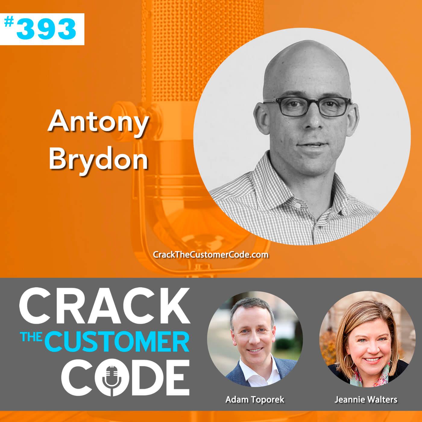 393: Antony Brydon, AI Customer Service