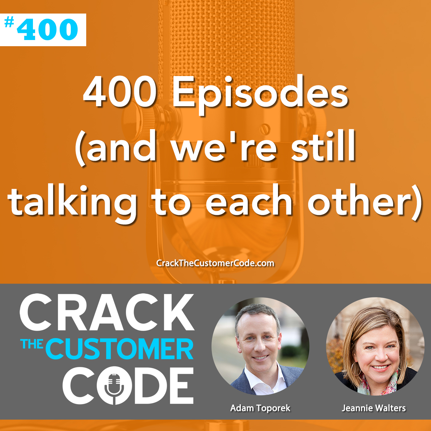 400 Episodes (and we're still talking to each other)