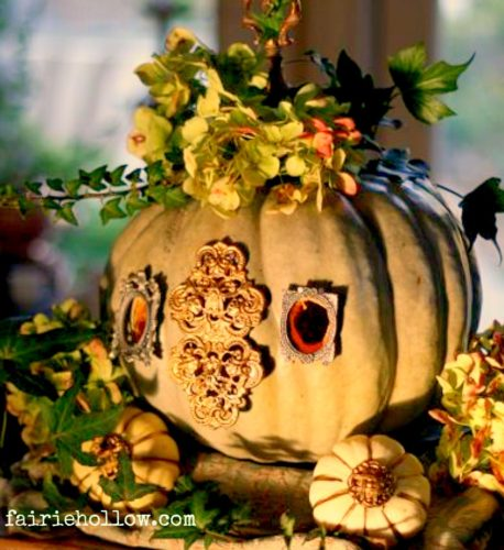 pumpkin fairy carriage
