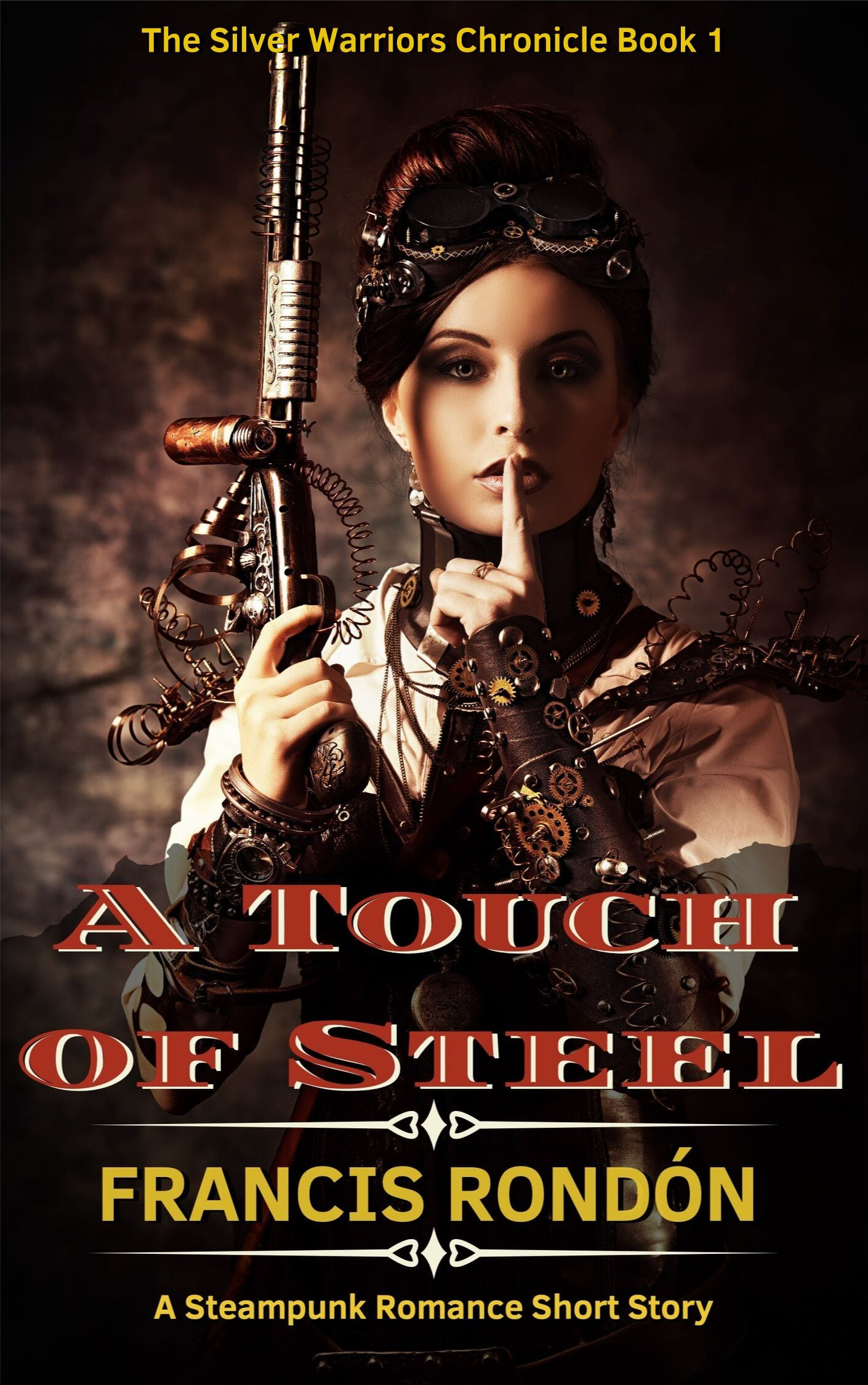 Book Cover: A Touch of Steel