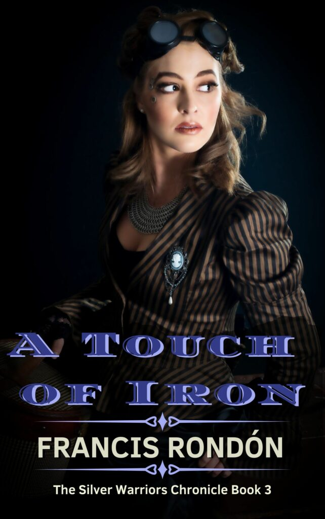 Book Cover: A Touch of Iron (Coming in 2020)