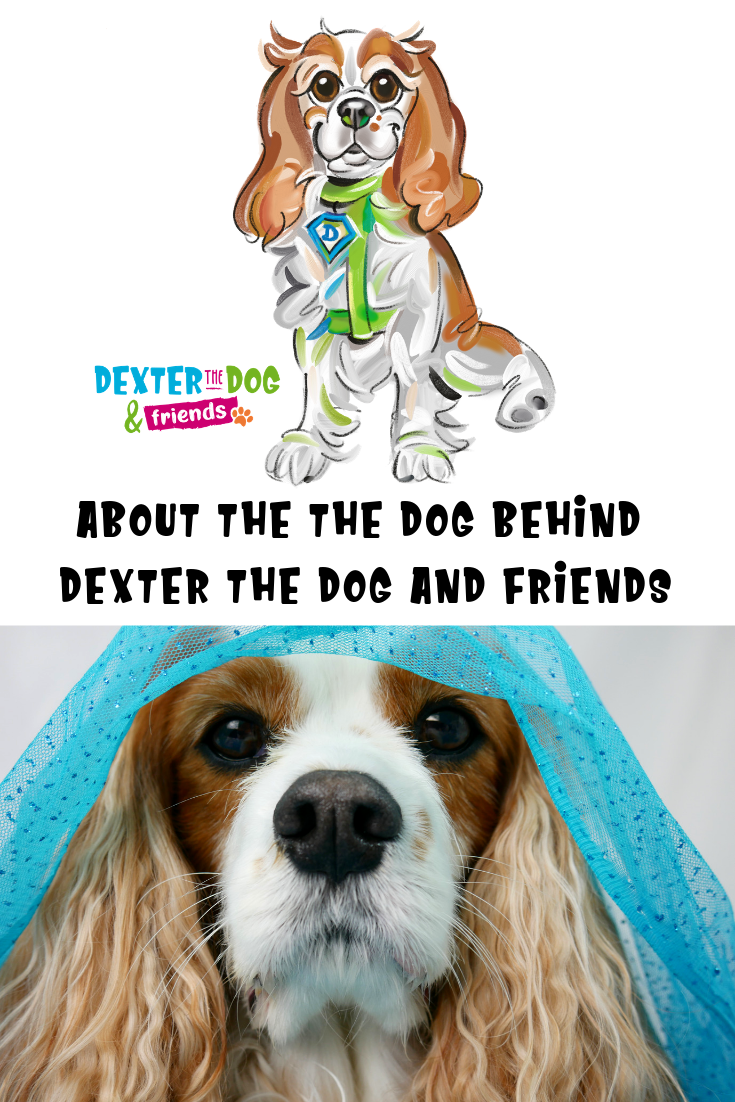 Learn more about the real Dexter behind the children's book series, Dexter the Dog and Friends. #DextertheDogandFriends #DextertheDog #specialneeds #childrensbooks #booksonspecialneeds