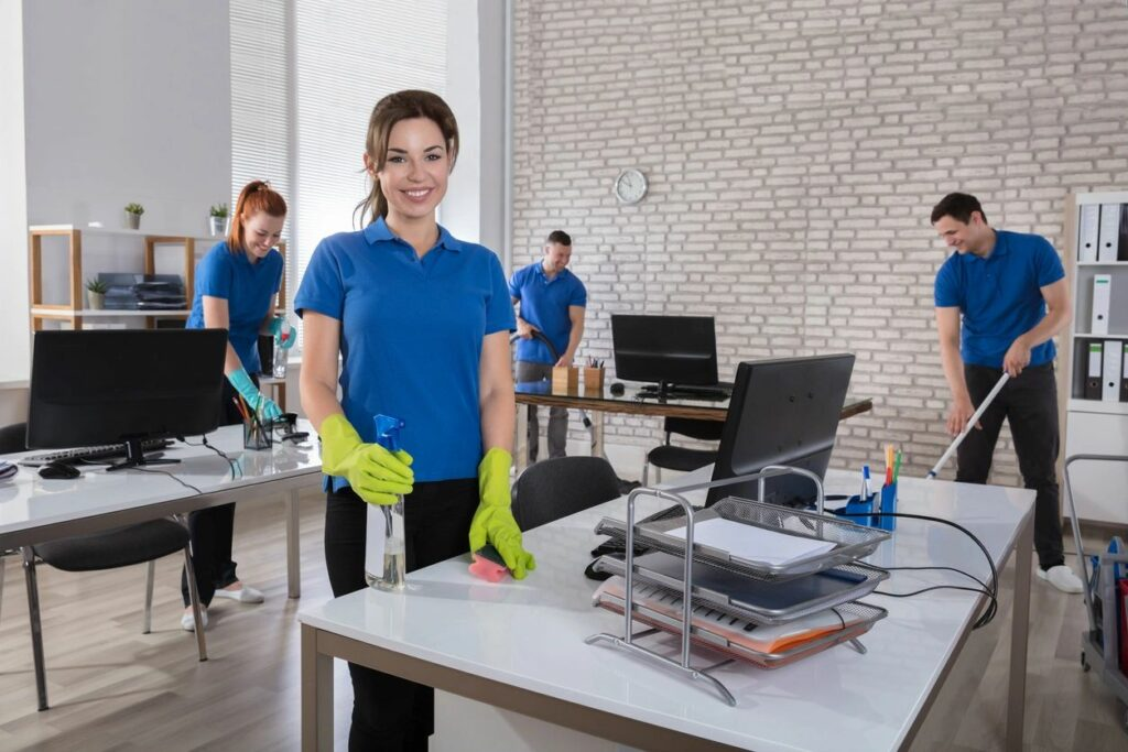 commercial cleaning apex