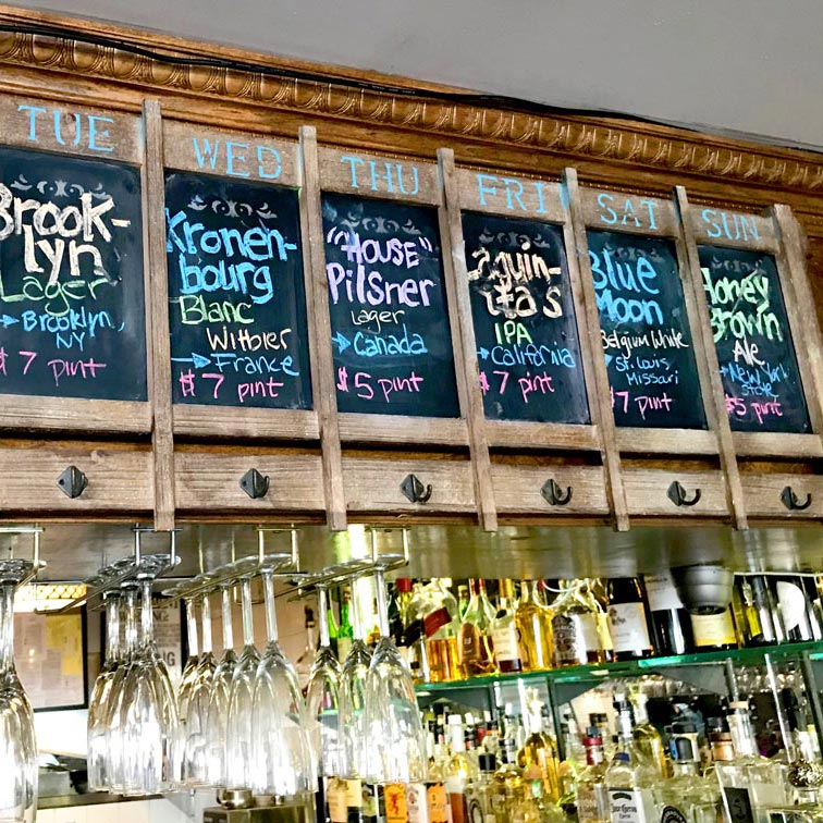 BIN 141 nyc restaurant east village drinks beers full bar