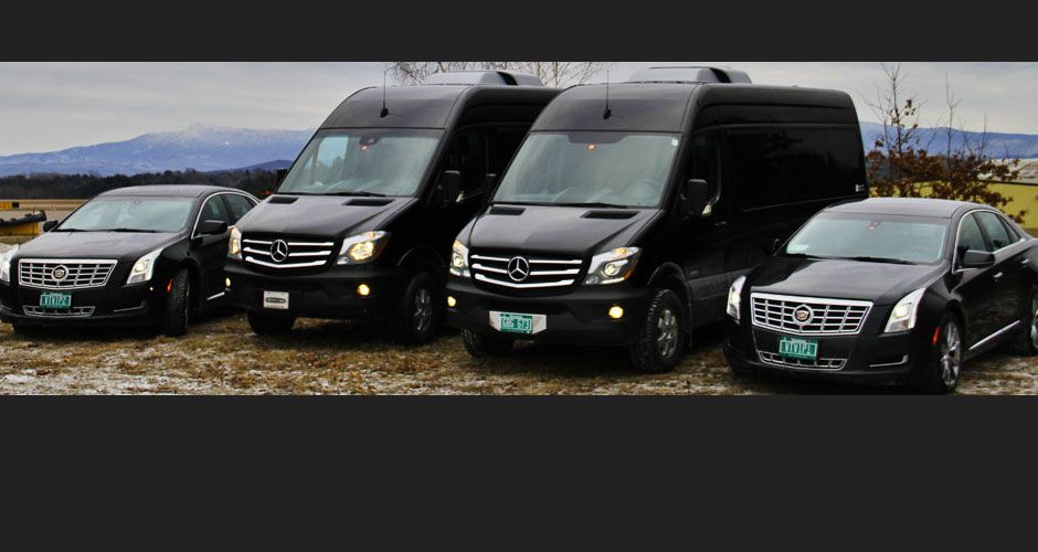 Vermont Wedding Limo & Chauffeured Van Service