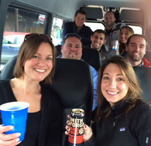Chauffeured Vermont Brewery Tours