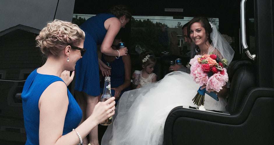 vt wedding limo