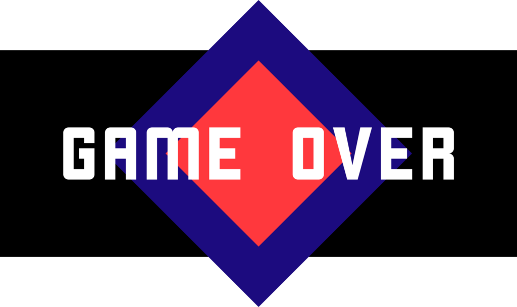 game over banner