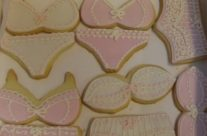 Bridal shower undies cookies