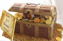 Pirate's Chest cake