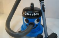 Charles the vacuum cake