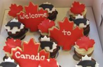 Welcome to Canada cupcakes