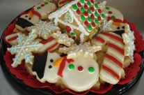 Christmas party tray